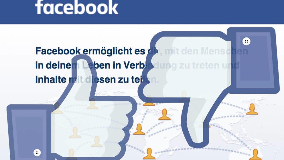 Lange Zeit wehrte sich Facebook gegen ein 'Gefällt mir nicht'