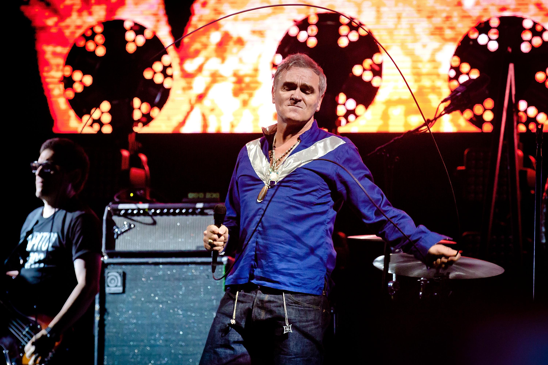 Ende August spielte Morrissey noch in Los Angeles.