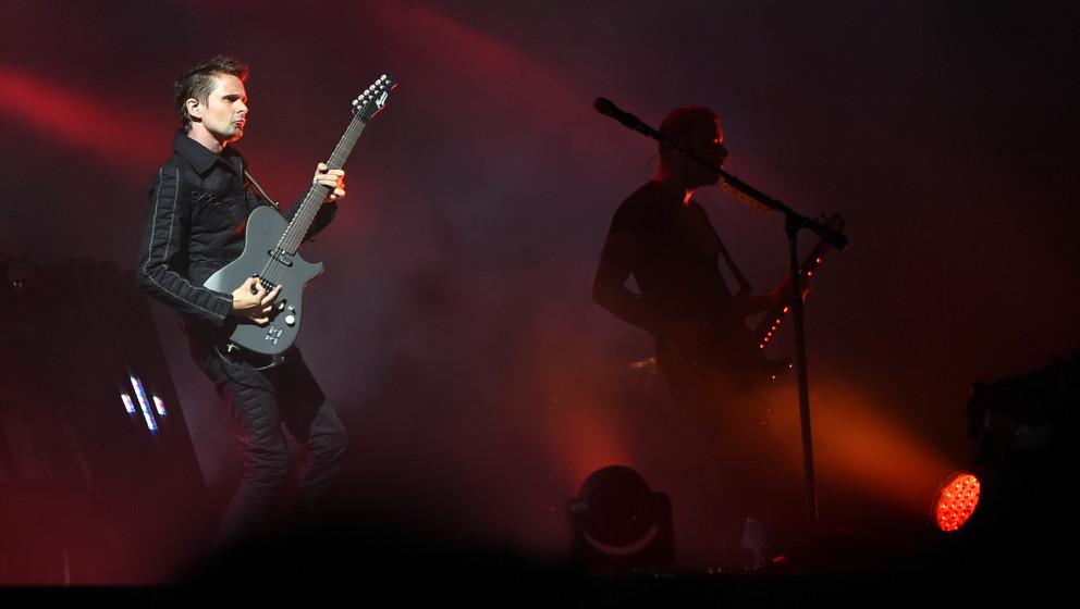 Einer der Headliner beim Lollapalooza-Festival in Berlin 2015: Muse