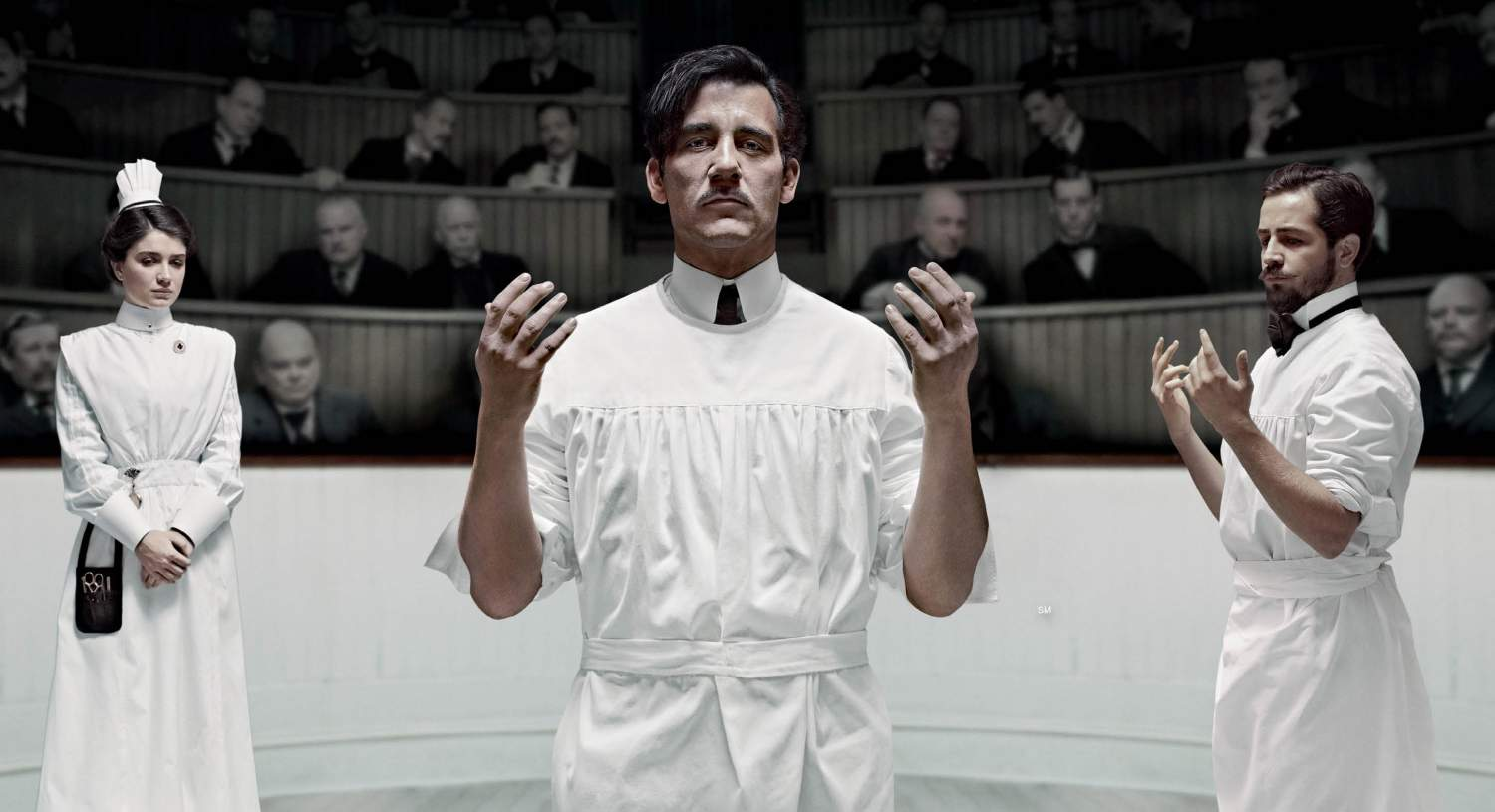 Clive Owen als Chefarzt Dr. Thackery in 'The Knick'