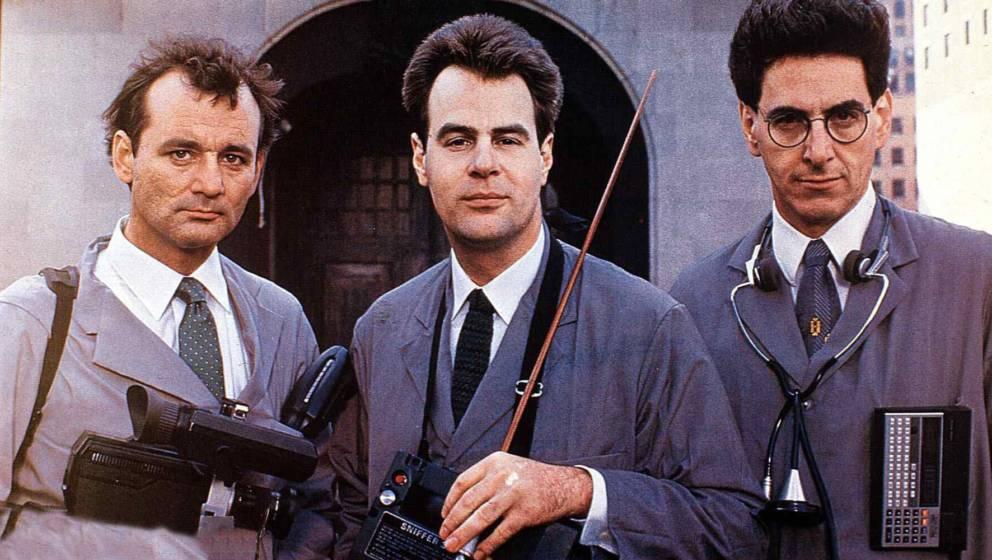 Ghostbusters  (1984) Bill Murray, Dan Aykroyd, Harold Ramis   Die Wissenschaftler Dr. Venkman (Bill Murray,l), Dr. Stantz (Da
