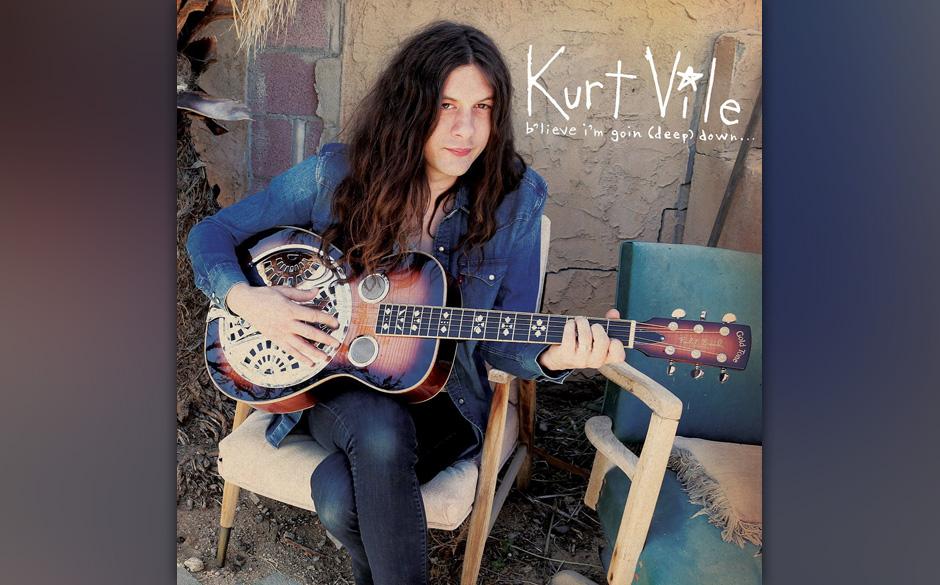 """""""Believe I'm going down"""" heißt die neue Platte von Kurt Vile. Hoffen wir, dass dem nicht so ist und der Singer-Songwriter noch weiter Musik macht."""