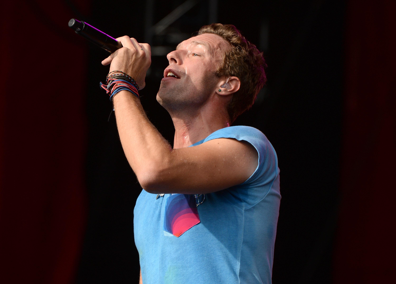 Chris Martin beim Global Citizen Music Festival, am 26. September 2015 in New York City.