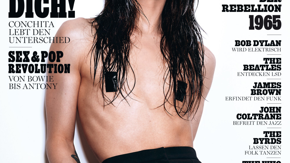 Conchita Wurst auf dem Cover des ROLLING STONE, Juli 2015