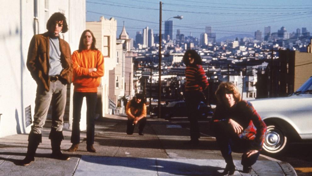 Grateful Dead zum Beginn ihrer Karriere, 1965, in San Francisco.