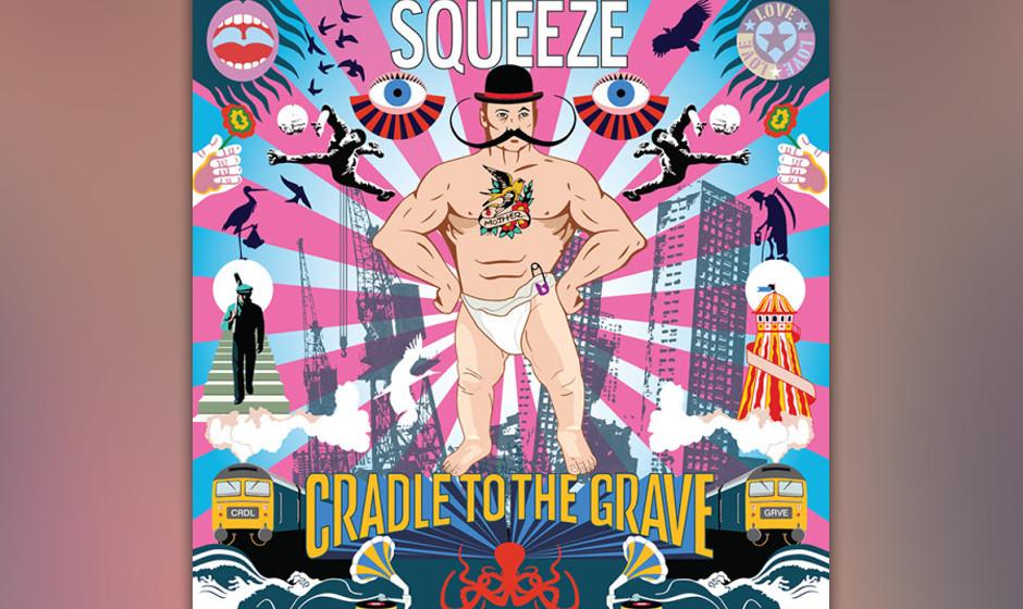 """Squeeze, bei denen in den 1970ern sogar Jools Holland Klavier gespielt hat, veröffentlichen mit """"Cradle To The Grave"""" eine neue Platte."""