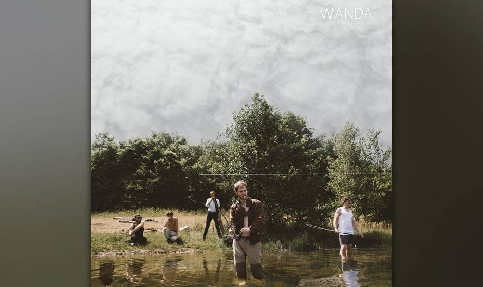 """Die Österreicher Wanda geben mit """"Bussi"""" ihrem Publiku nach """"Amore"""" von 2014 sofort neues Material zum lieben."""