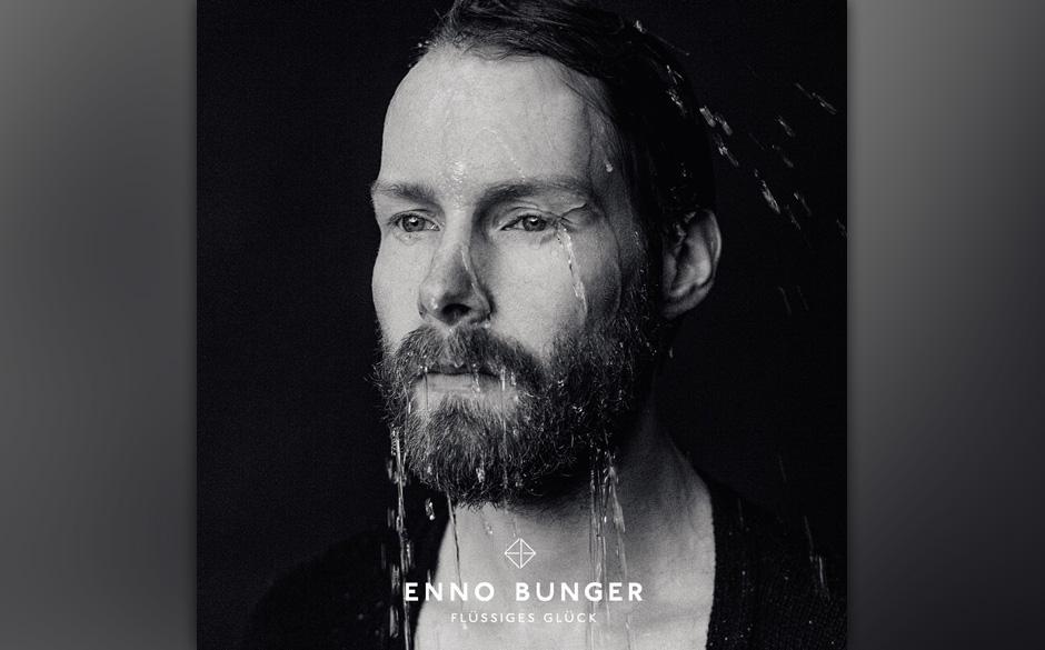 """Zwischen Emo-Pop und Dubstep-Puls fließt """"Flüssiges Glück"""" in die Ohren der Hörer von Enno Bunger."""
