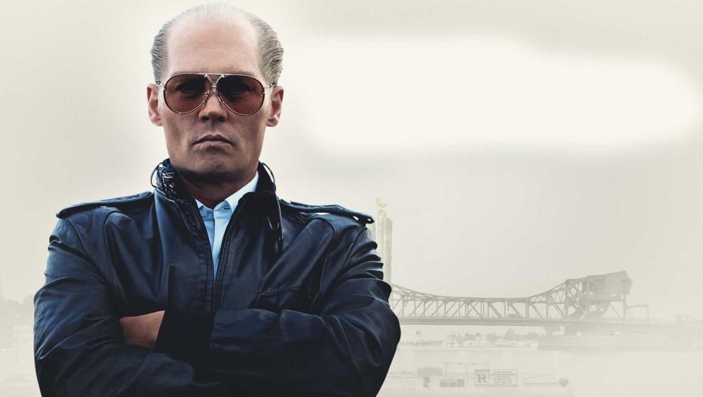 """Kaum wiederzuerkennen: Johnny Depp als James """"Whitey"""" Bulger im Film """"Black Mass"""""""