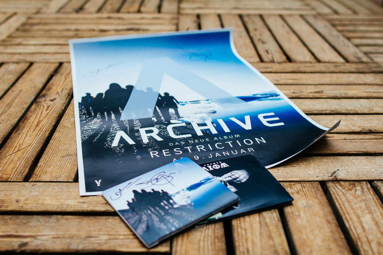 Dieses Fanpaket von Archive gibt es zu gewinnen.