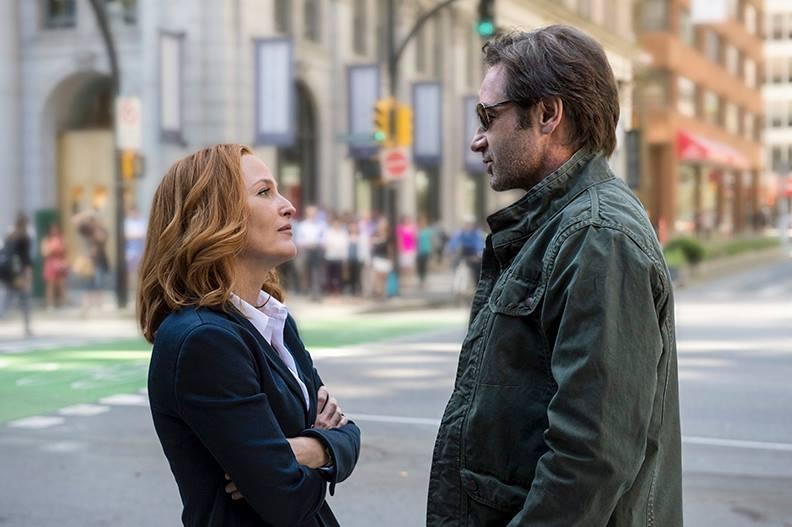 """Mulder und Scully sind zurück: Szenenbild aus der kommenden """"Akte X""""-Miniserie."""