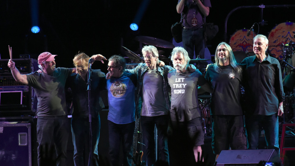 Schlussapplaus: The Grateful Dead bei ihrem Konzert am 5. Juli 2015.