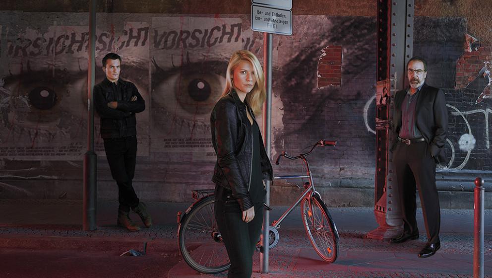 """""""Vorsicht"""": Die fünfte Staffel von Homeland wurde in Berlin gedreht."""