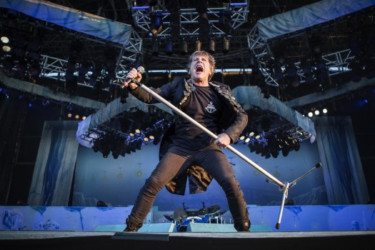 Iron Maiden live in Kopenhagen, 2014.