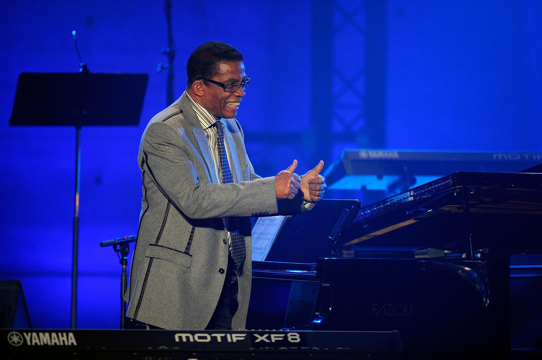 Herbie Hancock beim International Jazz Day, Paris, 2015.