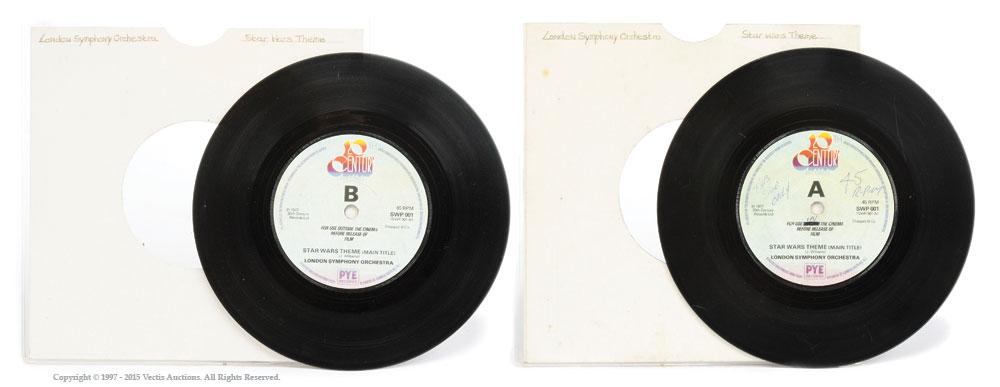 Diese seltene LP wird jetzt versteigert.