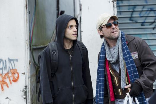 Hacker-Dream-Team: Elliot (Rami Malek) und Mr. Robot (Christian Slater)