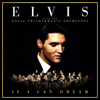 Elvis - If I Can Dream - CD Cover