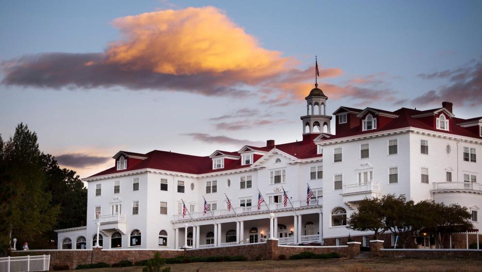 """Das Stanley-Hotel in Colorado diente als Vorlage für """"The Shining"""" von Stephen King."""
