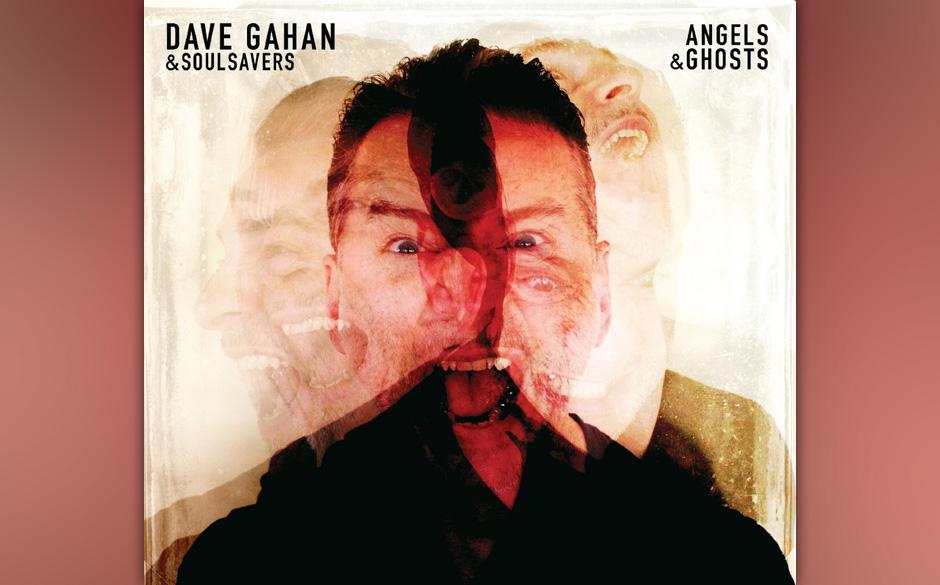 """Dave Gahan sorgt wieder für neue alte Verhältnisse eines Solokünstlers von Depeche Mode – zusammen mit den Soulsavers und """"Angels & Ghosts"""", das es fast mit der Arbeit von Schattenexperten wie Nick Cave und Johnny Cash aufnehmen kann."""
