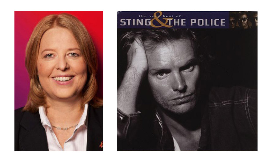 "Bärbel Bas (47) (SPD) Sting and The Police – ""The Very Best Of"""