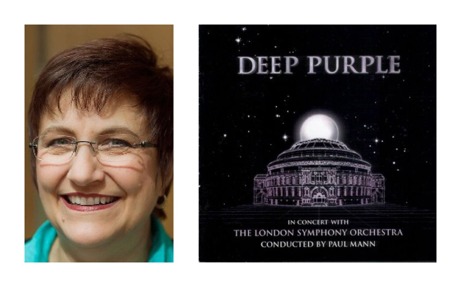 "Karin Binder (58) (DIE LINKE) Deep Purple – ""In Concert With The London Symphony Orchestra"""