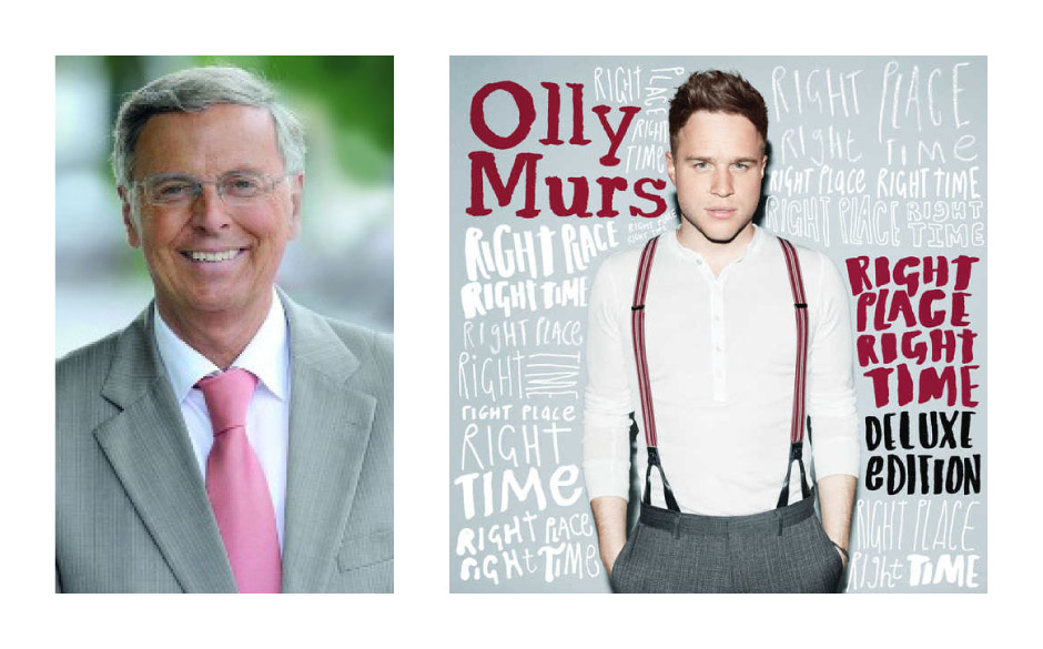 "Wolfgang Bosbach (CDU) (63) Olly Murs – ""Right Place, Right Time"""