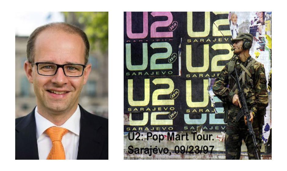 """Michael Brand (41) (CDU) U2 – """"Live In Sarajevo"""""""