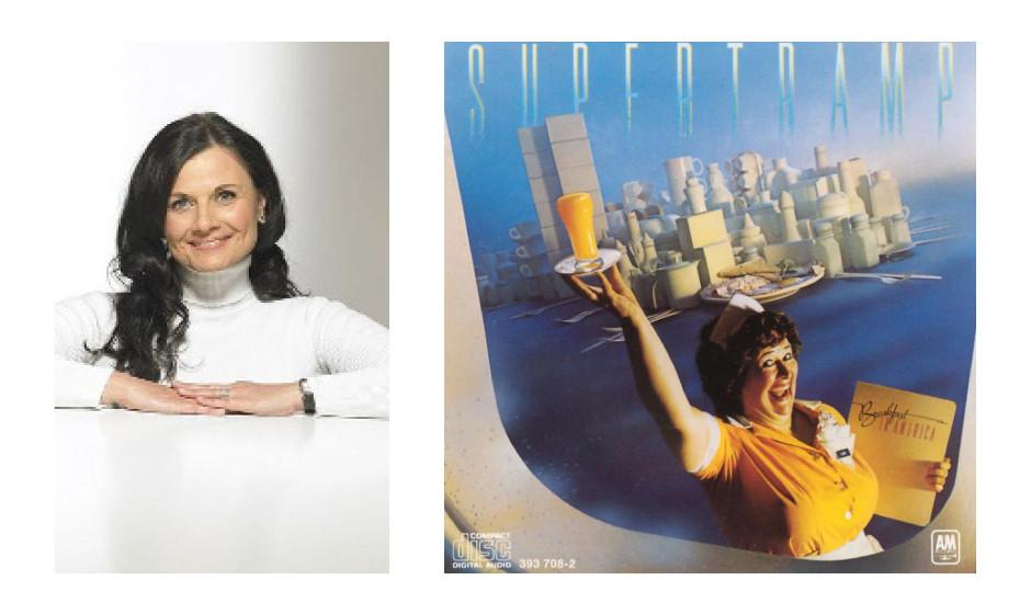 """Gitta Connemann (51) (CDU) Supertramp – """"Breakfast in America"""" """"Welches ist Ihre persönliche Lieblingsplatte? Welche ist es nicht? Denn, wenn mich etwas glücklich macht, ist es Musik, Musik, Musik."""""""