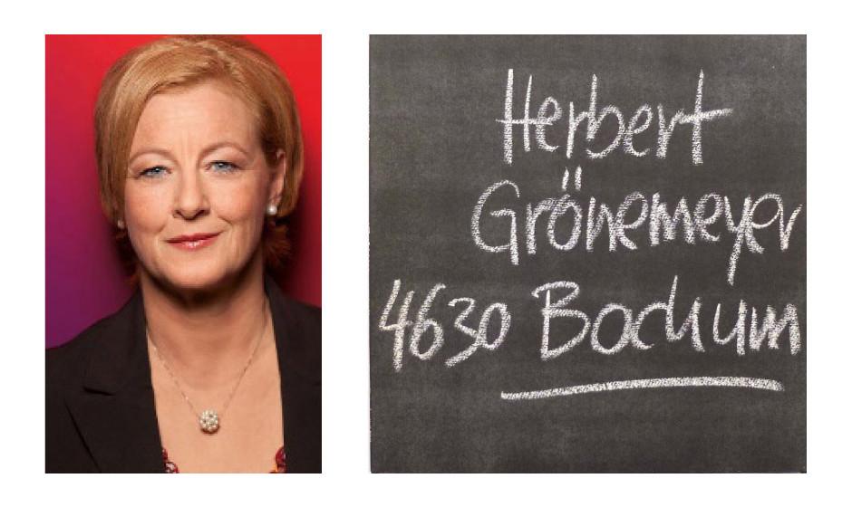 "Michaela Engelmeier (55) (SPD) Herbert Grönemeyer – ""4630 Bochum"""