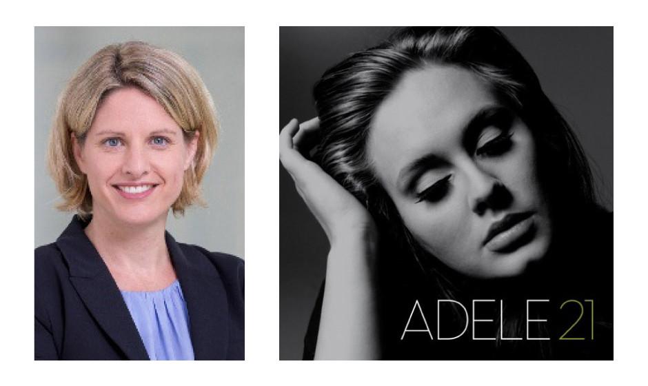 """Dr. Astrid Freudenstein (42) (CSU) Adele – """"21"""" """"Die Frau hat eine Stimme zum Reinlegen."""""""