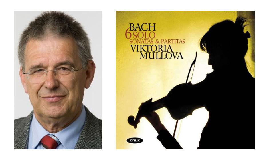 "Dr. Thomas Gambke (65) (Bündnis90/Die Grünen) Viktoria Mullova – ""Johann Sebastian Bach, Partiten für Violine Solo 1-3"""