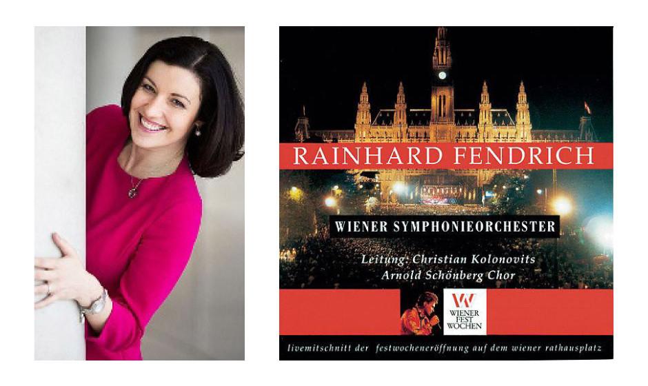 """Dorothee Bär (37) (CSU) Rainhard Fendrich – """"Live Mitschnitt der Festwocheneröffnung auf dem Wiener Rathausplatz"""""""