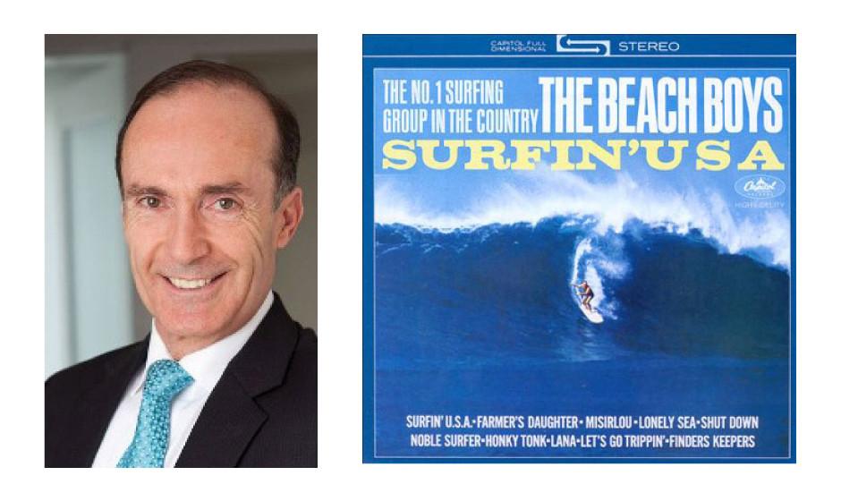"""Eberhard Gienger (64) (CDU) The Beach Boys – """"Surfin` USA"""""""