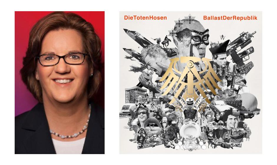 """Kerstin Griese (48) (SPD) Die Toten Hosen – """"Ballast der Republik"""""""