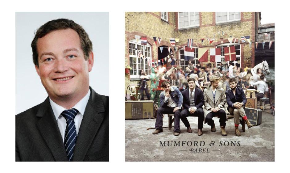 """Uli Grötsch (40) (SPD) Mumford and Sons – """"Babel"""""""