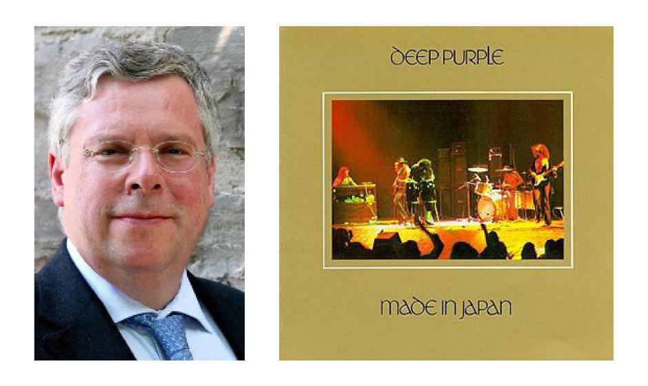 """Jürgen Hardt (52) (CDU) Deep Purple – """"Made In Japan"""""""