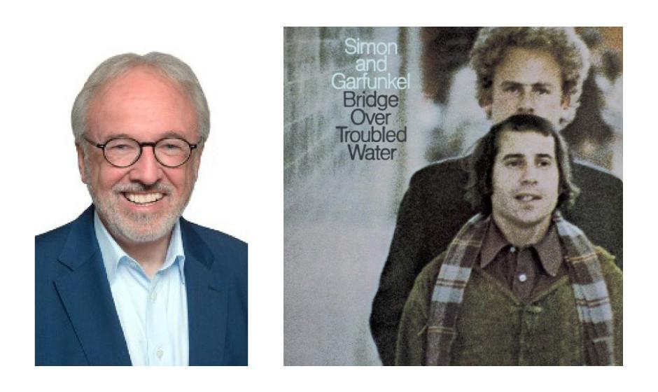 "Rudolf Henke (61) (CDU) Simon and Garfunkel – ""Bridge Over Troubled Water"""