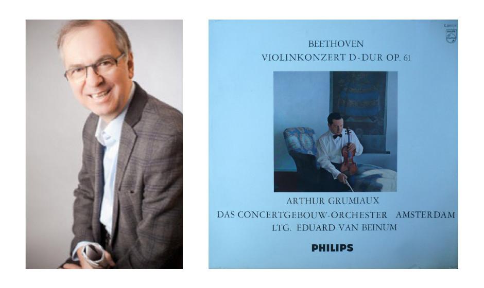 """Prof. Dr. Heribert Hirte (57) (CDU) Ludwig van Beethoven – """"Violinkonzert D-Dur op. 61"""""""