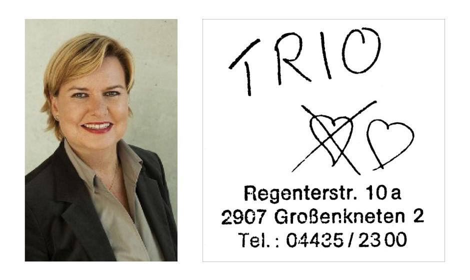 """Dr. Eva Högl (46) (CDU) Trio – """"Trio"""""""