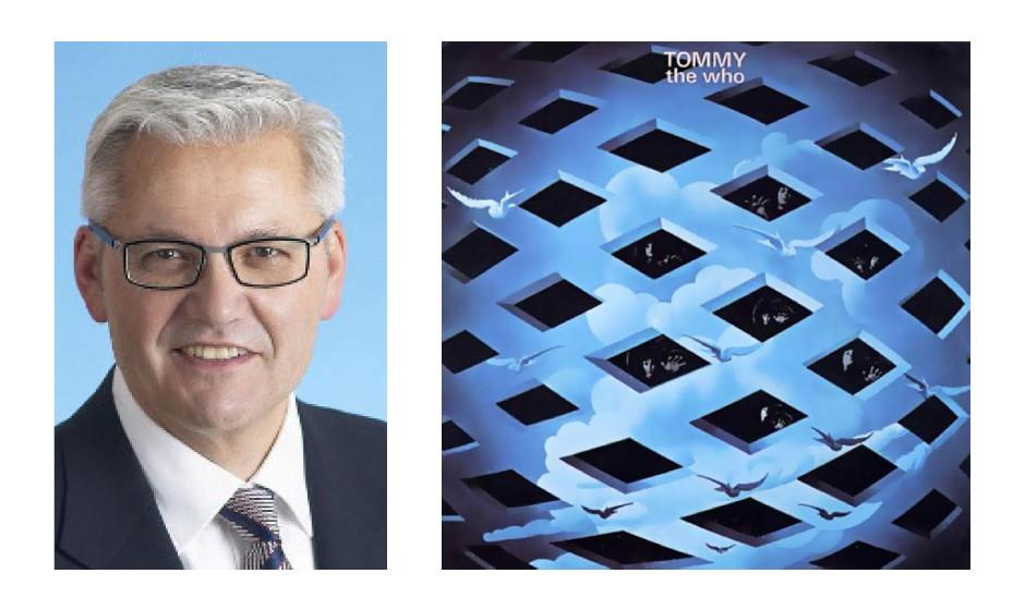 """Hubert Hüppe (58) (CDU)The Who – """"Tommy"""""""