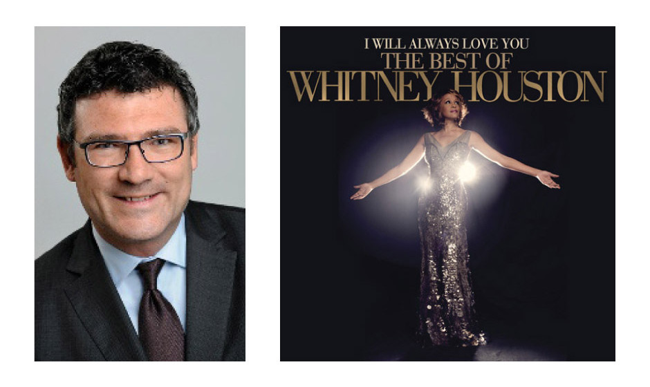 "Dr. Stefan Kaufmann (46) (CDU) Whitney Houston – ""I Will Always Love You: The Best Of"""