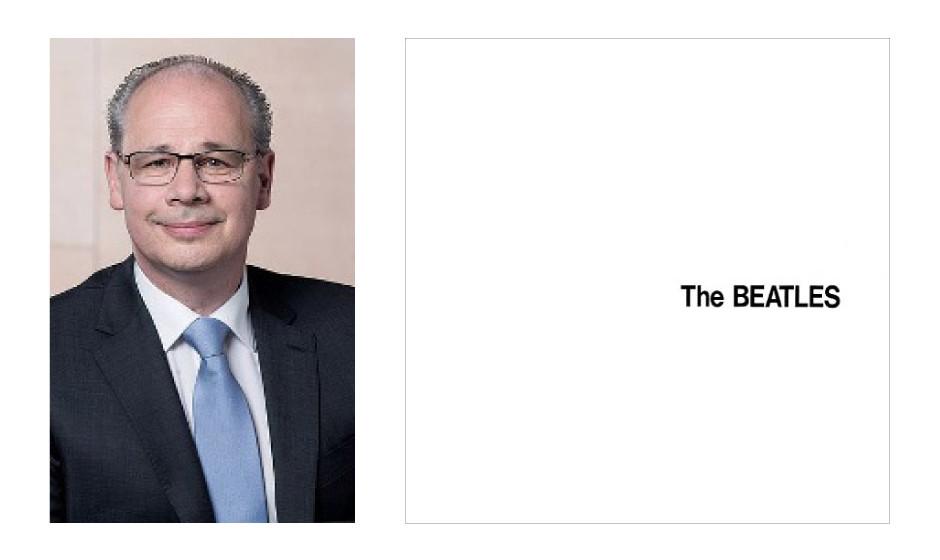 "Dr. Georg Kippels (56) (CDU) The Beatles – ""The BEATLES"""