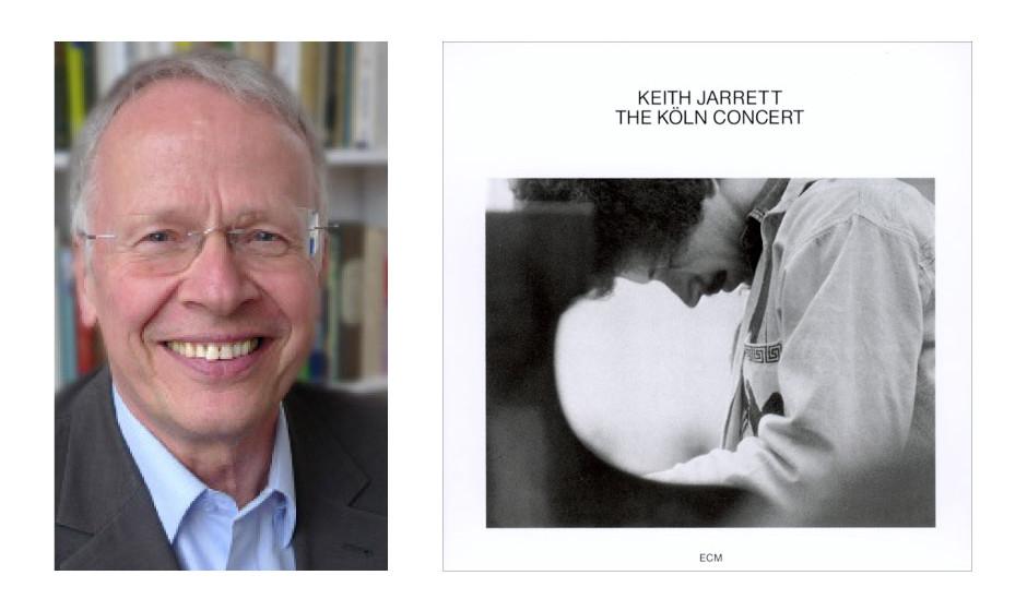 "Tom Koenigs (71) (Bündnis90/Die Grünen) Keith Jarrett – ""The Köln Concert"""