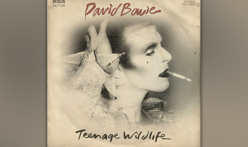 """76. 'Teenage Wildlife'.  Das längste Stück seit """"Station To Station"""" kam wie eine schwelgerische, ausufernde Version vo"""