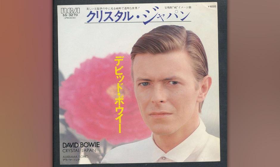 """78. 'Moss Garden'.  Bowie und Eno in Meditationshaltung: Inmitten der grauen Großtstadtverzweiflung von """"Heroes"""" wirkt d"""