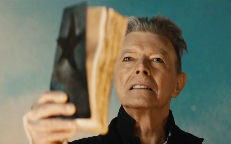 "David Bowie in seinem ""Blackstar""-Video"