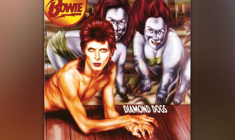 """86. 'Sweet Thing'.  Angeblich ließ Bowie im Studio einen Scheinwerfer auf sich richten, um  """"Sweet Thing"""" mit der angeme"""