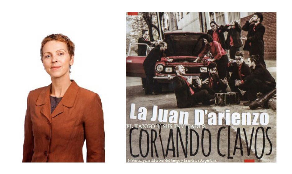 """Sabine Leidig (54) (DIE LINKE) La Juan D'Arienzo – """"Cortando Clavos"""""""