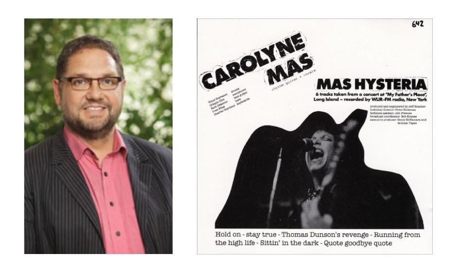"""Peter Meiwald (49) (Bündnis90/Die Grünen) Carolyne Mas – """"Mas Hysteria"""" """"Meine erste große Favoritin war Carolyne Mas """"Sitting in the dark"""" – die habe ich mir 1985 noch auf Vinyl von meinem ersten Zivi-Sold gekauft."""""""
